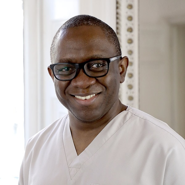dr ope sodeinde specialist dentist london