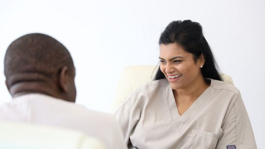 Gum disease pocket reduction and dental implants ate Harley Street dentist London Dental Specialists