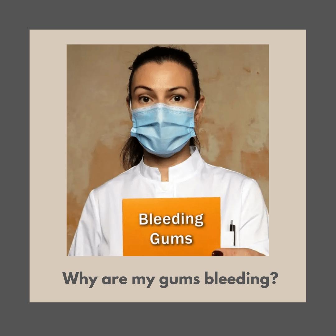 bleeding gums london dentist treatment