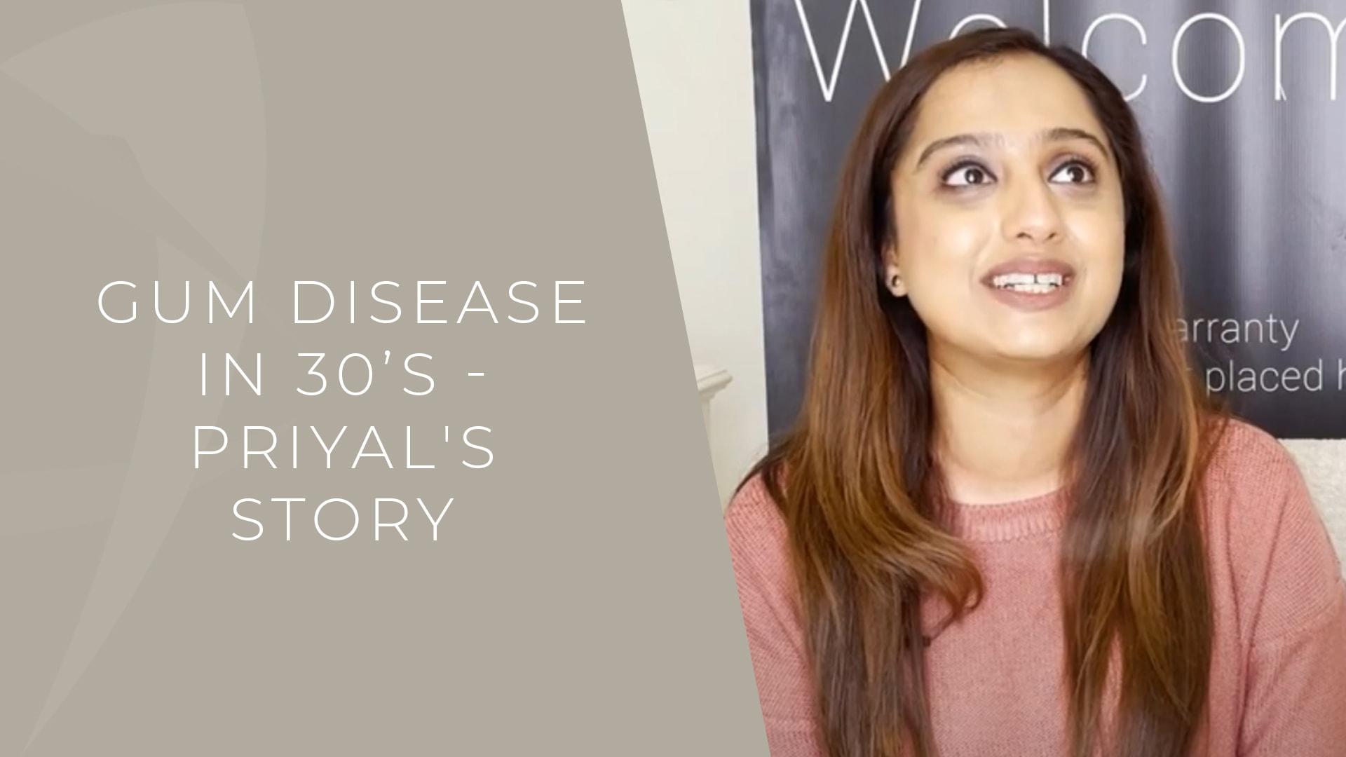 early gum disease patient story london