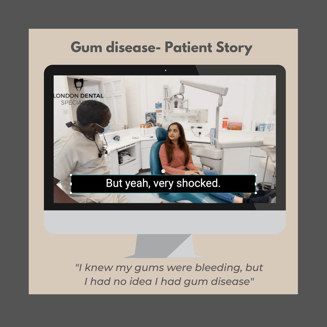 gum disease treatment london dentist